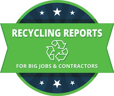 dumpster rental recycling reports